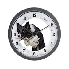 Border Collie Agility Wall Clock