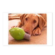 Puppy Lightbulb Postcards (Package of 8)