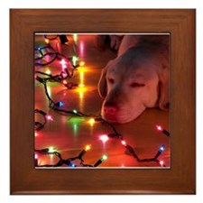 A Light Nap Framed Tile