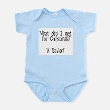 Christmas Savior Infant Creeper