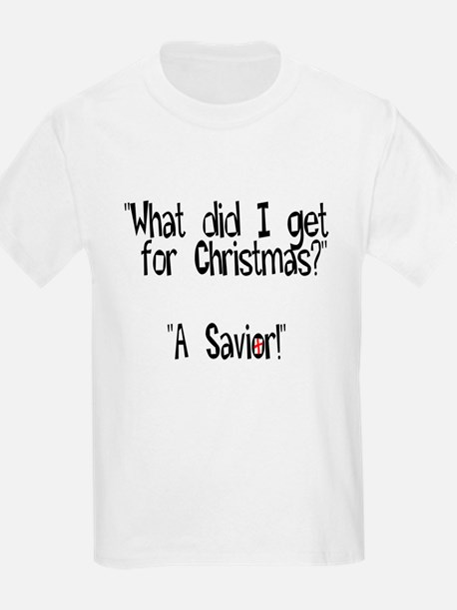Christmas Savior Kids T-Shirt