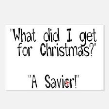Christmas Savior Postcards (Package of 8)