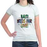 Haiti Needs Our Love Jr. Ringer T-Shirt