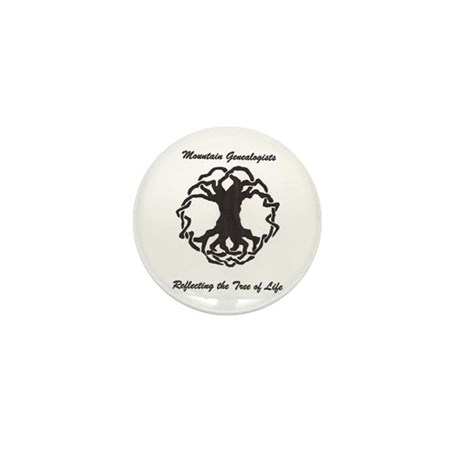 Mountain Genealogists Mini Button (10 pack)