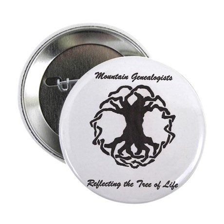 """Mountain Genealogists 2.25"""" Button (10 pack)"""