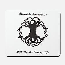 Mountain Genealogists Mousepad