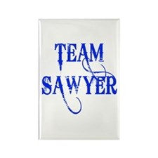 TEAM SAWYER from LOST TV Rectangle Magnet