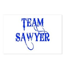 TEAM SAWYER from LOST TV Postcards (Package of 8)