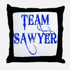 TEAM SAWYER from LOST TV Throw Pillow