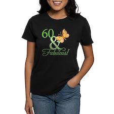 60 & Fabulous Birthday Tee