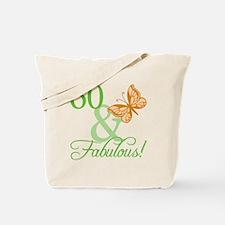 60 & Fabulous Birthday Tote Bag