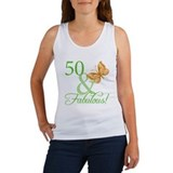 50th birthday women Women's Tank Tops