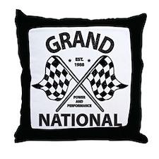 Grand National Throw Pillow
