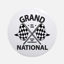 Grand National Ornament (Round)