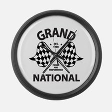 Grand National Large Wall Clock