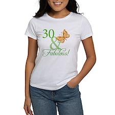 30 & Fabulous Birthday Tee