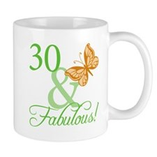 30 & Fabulous Birthday Mug