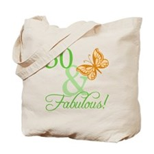 30 & Fabulous Birthday Tote Bag
