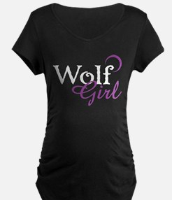 Twilight Wolf Girl T-Shirt