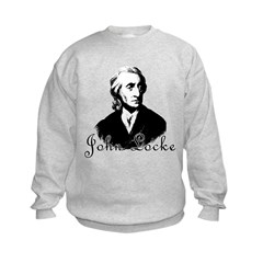 Philosopher JOHN LOCKE Sweatshirt