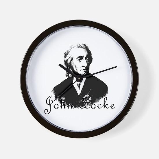 Philosopher JOHN LOCKE Wall Clock