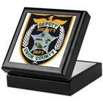 Union County Sheriff Keepsake Box