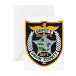 Union County Sheriff Greeting Cards (Pk of 10)