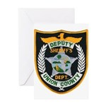Union County Sheriff Greeting Card