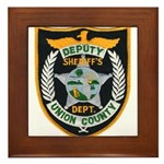 Union County Sheriff Framed Tile