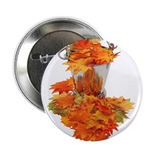 """Leaves in Ice Bucket 2.25"""" Button"""