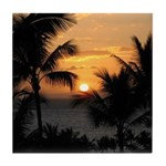 Wailea Sunset Tile Coaster