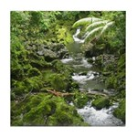 Green Stream Tile Coaster