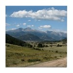 Estes Overlook Tile Coaster