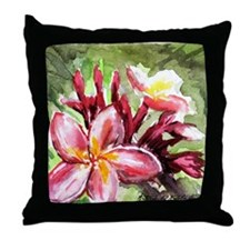 Cute Orchids Throw Pillow