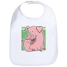 Cute Cartoon Piggy Bib