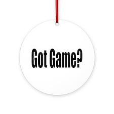 Got Game? Ornament (Round)