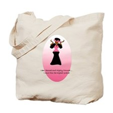 """""""Blessed, Highly Favored!"""" Tote Bag"""
