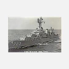USS WALKE Rectangle Magnet