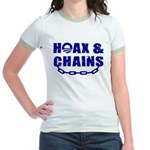 HOAX & CHAINS Jr. Ringer T-Shirt