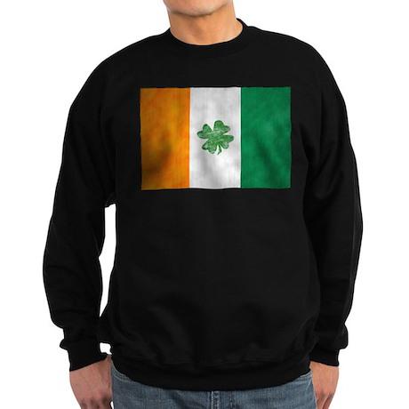 Irish Shamrock Flag Sweatshirt (dark)