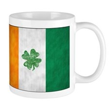Irish Shamrock Flag Mug