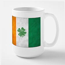 Irish Shamrock Flag Mug