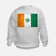 Irish Shamrock Flag Sweatshirt