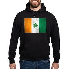Irish Shamrock Flag Hoodie