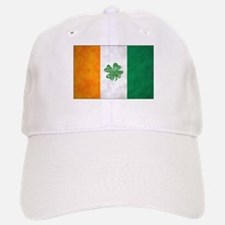 Irish Shamrock Flag Baseball Baseball Cap