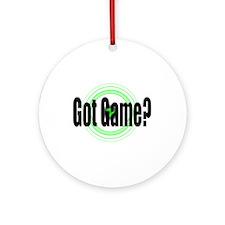 Got Game?  (2) Ornament (Round)