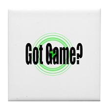 Got Game?  (2) Tile Coaster