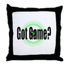 Got Game?  (2) Throw Pillow