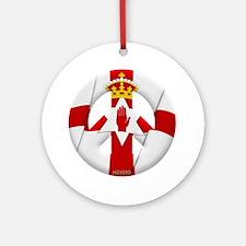 Northern Ireland Ornament (Round)