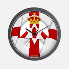 Northern Ireland Wall Clock